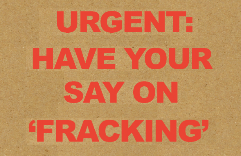 Fracking - have your say