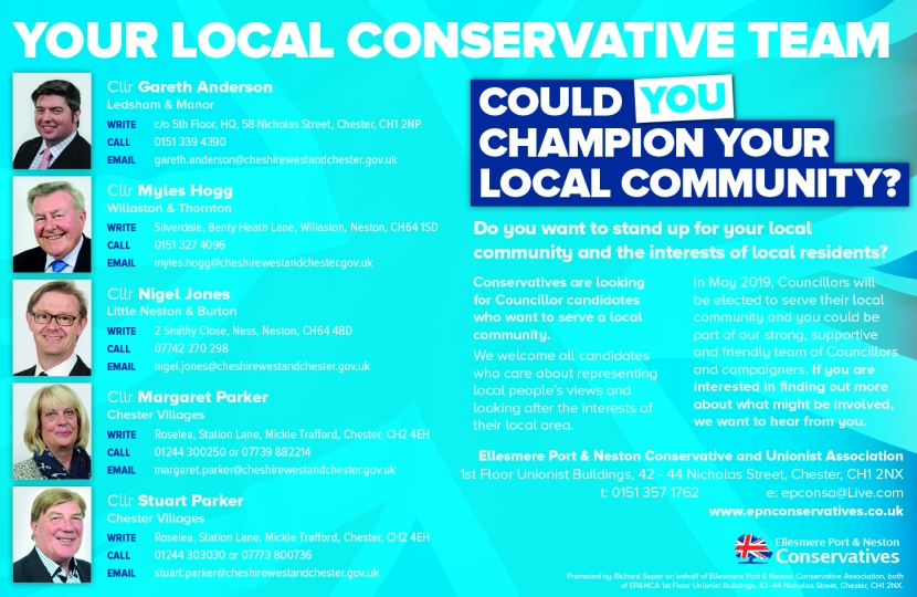 Could YOU champion YOUR local community